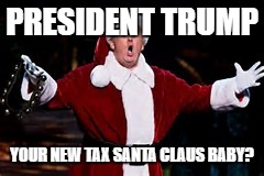 President Trump: Your New Tax Santa Claus Baby?